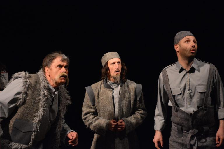 фото з вистави Чудернацькі пригоди Бурсака