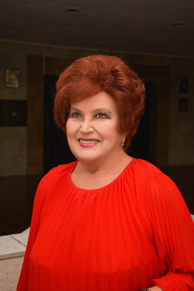 28 вересня народна артистка України Євгенія Серебрякова святкує свій поважний ювілей